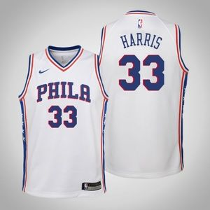 Youth Philadelphia 76ers 33 Tobias Harris Jersey